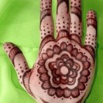 Arabic Mehndi design for Eid