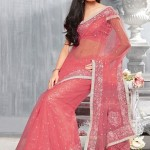Beautiful Stylish Party Wear Sarees Designs For Girls 2011