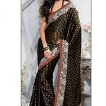Beautiful Stylish Party Wear Sarees Designs For Girls9