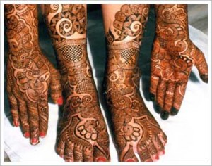 Bridal mehndi designs for hands and foot | Latest Collection 2012