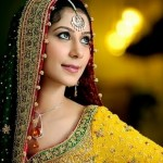 Bridal mehndi dresses-2011
