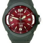 Casio Casual Red Dial Men's Watch