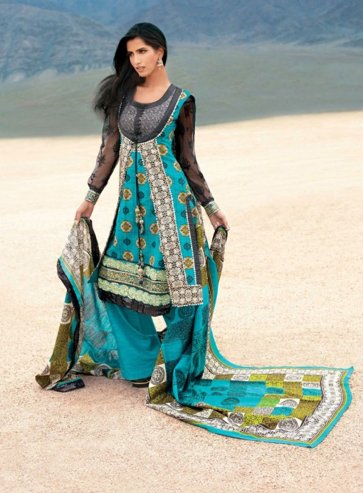 Evening Wear Designer Salwar Kameez