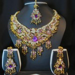 Gold bridal jewelry-3