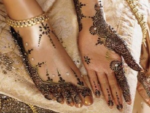 Mehndi designs for hands and foot