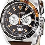 Haurex Italy Chronograph MPH Gift Set Black Dial Men's Watch