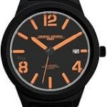 Jorg Gray Leather Black Dial Men's watch45