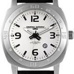 Jorg Gray Leather Silver Dial Men's watch
