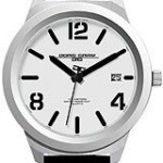 Jorg Gray Leather White Dial Men's watch