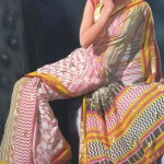 Latest-Casual-Printed-Saree-Design