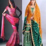 Latest Wedding Sharara Designs 2011