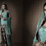 Mehreen-pakistani-model-in-umar-sayeed-latest-collection