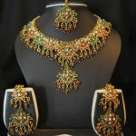 Nagg-Beaded-Gold-Bridal-Jewelry-set-6