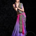 Ornate-Georgette-Saree