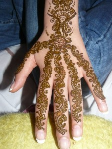 Pakistani Mehndi Design for Teenager Girls