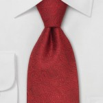 Patterned neck tie 7
