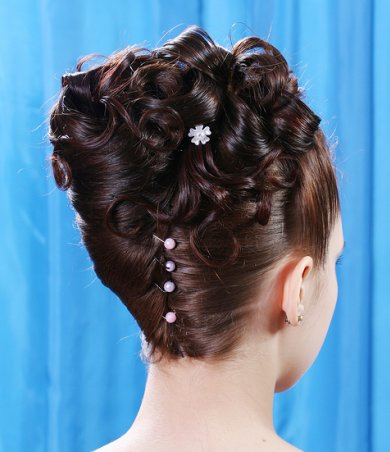 Prom Curly Hair Styles