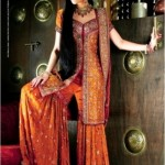 Stylish sharara design 2011