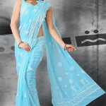 Tranquil-Peach-Designer-Sarees-for girls