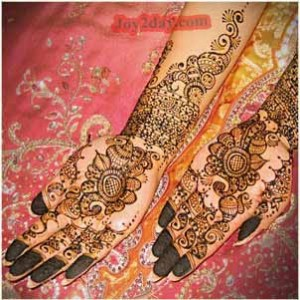 Arabic Bridal Mehndi Designs 2012
