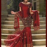 bridal sharara stylish designs