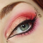 bridals eye makeup