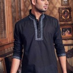 cotton-blue-embroidered-kurta