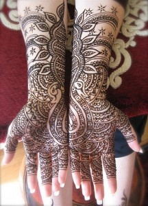 Indian Bridal Mehndi Designs 2012