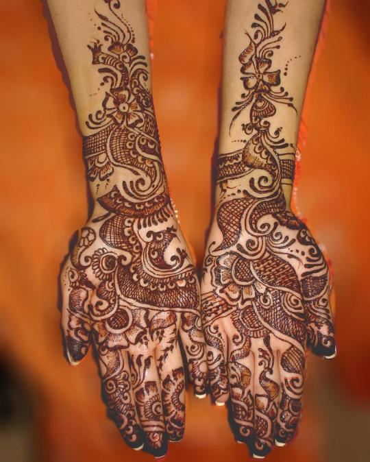 Mehndi Patterns Bridal : Bridal mehndi designs latest henna patterns for bridals