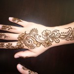 Latest Mehndi Designs 2011 – New Henna Designs for Pakistan Girls – Eid 2011