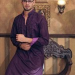 purple kurta fashion 2012