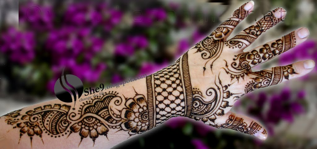 Bridal mehndi Designs - Latest Henna patterns for bridals