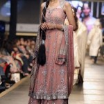 Pink bridal dress by Deepak Parwani