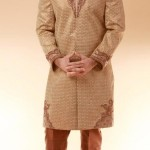 Wedding Sherwani by Deepak Perwani