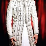 off White Sherwanu for groom