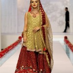 Bridal dresses by Deepak Parwani –  Latest bridal wear 2012