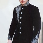 Fancy groom dress by Deepak Perwani
