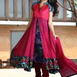 Anarkali Frocks Eid Dress 2012