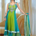 Anarkali Frocks-Latest Fashions 2012-13