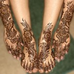 Arabic Bridal Mehendi Designs 2012