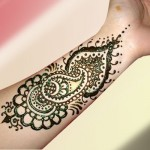 Arabic Eid Mehndi designs 2012