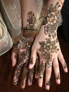 Indian Bridal Mehndi Designs | 2012 collection