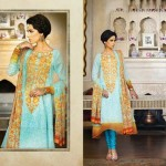 Best Lawn Dress For Eid 2012 - Kayseria Collection