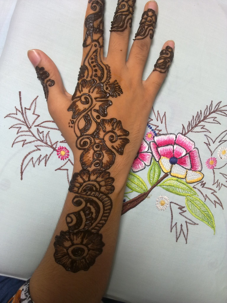 Latest Mehndi Designs For Eid 2012 | Stylish Henna Designs