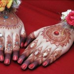Latest Pakistani mehndi designs 2012 | Eid Collection