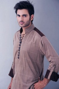 Nishat Naqash Embroided Men Kurta Collection 2012.