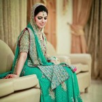 Latest Long Shirt Lehnga - Pakistani Designers