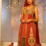 Pakistani bridal lehnga long shirt latest fashion