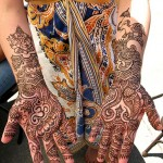Rajasthani Mehndi Designs for Bridal - 2012