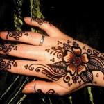 Simple Mehndi Designs 2012